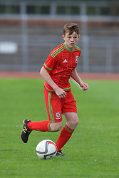 NEWPORT, WALES - Thursday, August 4, 2016: Regional Development Boys' Vinnie Dwyer during the Welsh Football Trust Cymru Cup 2016 at Newport Stadium. (Pic by Paul Greenwood/Propaganda)