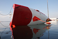 Imoca 60 ACCIONA.Imoca class 180 degree test.