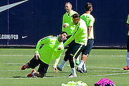 Barcelona Training  170315