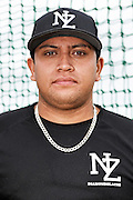 Moko Moanaroa.<br /> New Zealand Diamond Blacks Baseball Team headshots.<br /> Llloyd Elsmore Park, Pakuranga, Auckland, New Zealand. 4 February 2016.<br /> Copyright photo: Andrew Cornaga / www.photosport.nz