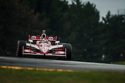 August 2011. Scott Dixon, Indycar Honda Grand Prix of Ohio at Mid Ohio Sportscar Course in Lexington, OH.