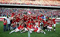 29 05 2011 Copyright imago  Ekstraklasa Wisla Krakow Polonia Warsaw Wisla Krakow Celebrates Winning of Polish League Victory of Wisla<br /> lagbilde<br /> Norway only