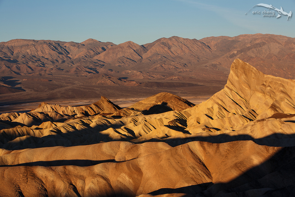 View from Zabriskie Point, Death Valley, California
