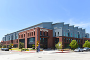 The K Residence Hall Student Housing Complex, in Old Towne Orange Chapman University campus.