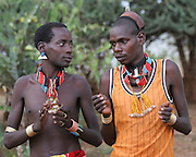 Africa, Ethiopia, Omo River Valley Hamer Tribe Man