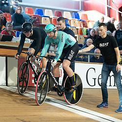 27-12-2019: Wielrennen: NK Baan: Alkmaar <br />Mathijs Buchli wint zijn eerst rit kwartfinale sprint