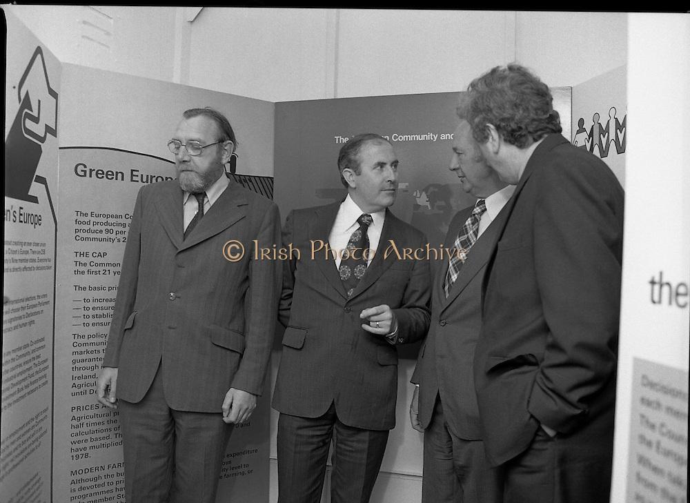 Roadshow EEC 03/07/1978 Frank Cluskey, Dick Burke, Jack Lynch, Garath Fitzgerald,