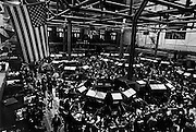 The New York Stock Exchange trading floor