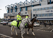 Police presence during the FA Cup match at The Den, London<br /> Picture by Liam McAvoy/Focus Images Ltd 07413 543156<br /> 29/01/2017