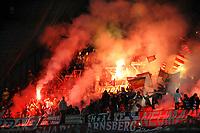 """Tifosi BAYERN<br /> Bayern fans<br /> Napoli 18/10/2011 Stadio """"San Paolo""""<br /> Football Calcio Champions League 2011/2012 <br /> Napoli Vs Bayern Munchen Monaco<br /> Foto Insidefoto Andrea Staccioli"""