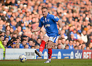 Portsmouth defender Ben Davies during the Sky Bet League 2 match between Portsmouth and Newport County at Fratton Park, Portsmouth, England on 12 March 2016. Photo by Adam Rivers.
