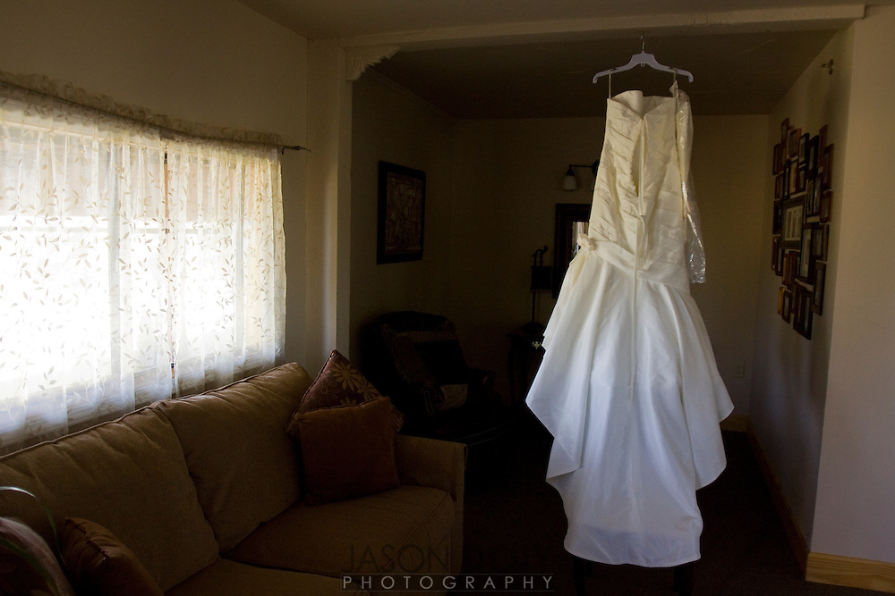 rehearsal and dress with window