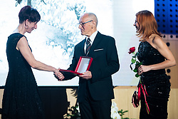 Meta Apotekar at 55th Annual Awards of Stanko Bloudek for sports achievements in Slovenia in year 2018 on February 4, 2020 in Brdo Congress Center, Kranj , Slovenia. Photo by Grega Valancic / Sportida