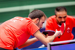 TURKEY (Yagiz ENGIN and Fatih ERDEN) during day 5 of 15th EPINT tournament - European Table Tennis Championships for the Disabled 2017, at Arena Tri Lilije, Lasko, Slovenia, on October 2, 2017. Photo by Ziga Zupan / Sportida