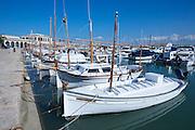 Fishing boats at Port de Pollenc?a.