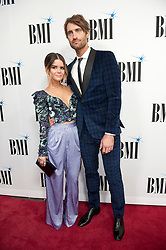 Nov. 13, 2018 - Nashville, Tennessee; USA - Musician MAREN MORRIS and RYAN HURD  attends the 66th Annual BMI Country Awards at BMI Building located in Nashville.   Copyright 2018 Jason Moore. (Credit Image: © Jason Moore/ZUMA Wire)