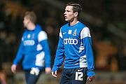 Josh Cullen (Bradford City) before the Sky Bet League 1 match between Bradford City and Southend United at the Coral Windows Stadium, Bradford, England on 16 February 2016. Photo by Mark P Doherty.
