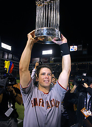 Buster Posey and the San Francisco Giants win, 2010