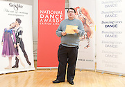 National Dance Awards.Announcement of Nominations.9th November 2012 .at The Place, London, Great Britain ..Lee McLernon. ..Photograph by Elliott Franks..Tel 07802 537 220 .elliott@elliottfranks.com..2012©Elliott Franks.Agency space rates apply