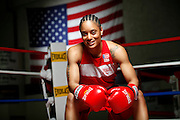 6/24/11 2:42:05 PM -- Colorado Springs, CO. -- A portrait of U.S. Olympic lightweight boxer Queen Underwood, 27, of Seattle, Wash. who will be competing for her fifth title. She began boxing in 2003 and was the 2009 Continental Champion and the 2010 USA Boxing National Champion. She is considered a likely favorite to medal at the 2012 Summer Olympics in London as women's boxing makes its debut as an Olympic sport. -- ...Photo by Marc Piscotty, Freelance.