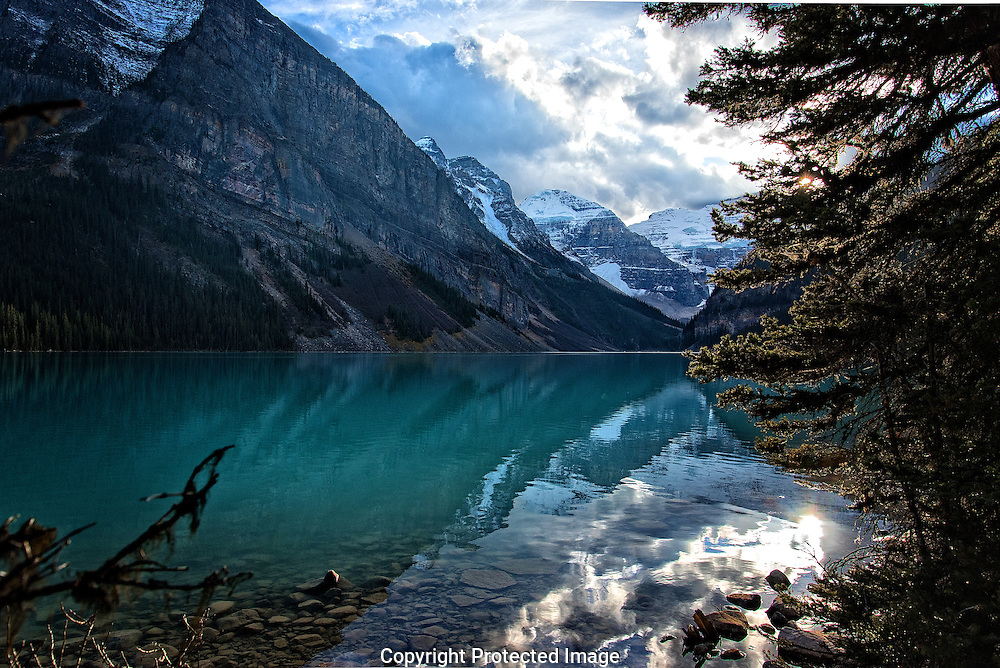 Hiking at Lake Louise., Alberta, canada, Isobel Springett