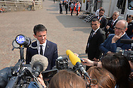 10° Festival Economia a Trento, Teatro Auditorium  il Primo Ministro francese Manuel Valls, Trento 30 maggio 2015 © foto Daniele Mosna