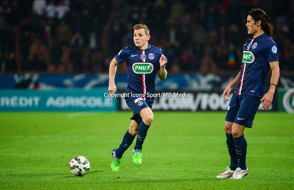 Lucas DIGNE - 21.01.2015 - Paris Saint Germain / Bordeaux - Coupe de France<br /> Photo : Dave Winter / Icon Sport