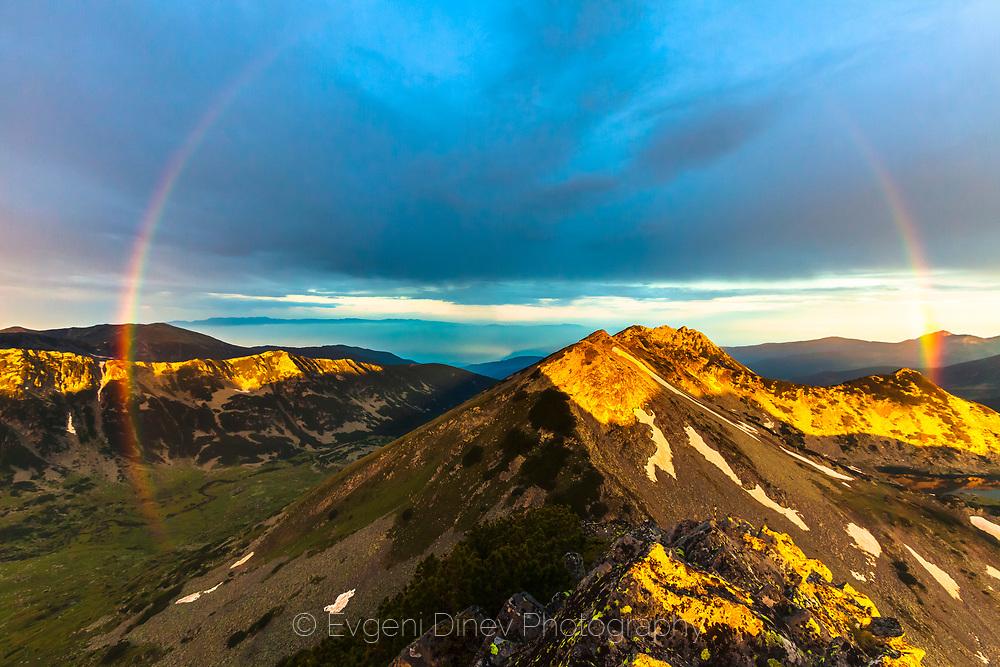 Tevno lake in Pirin Mountain