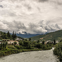 landscape, Bhutan <br />
