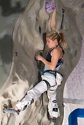 Maja Vidmar of Slovenia during Final IFSC World Cup Competition in sport climbing Kranj 2010, on November 14, 2010 in Arena Zlato polje, Kranj, Slovenia. (Photo By Vid Ponikvar / Sportida.com)