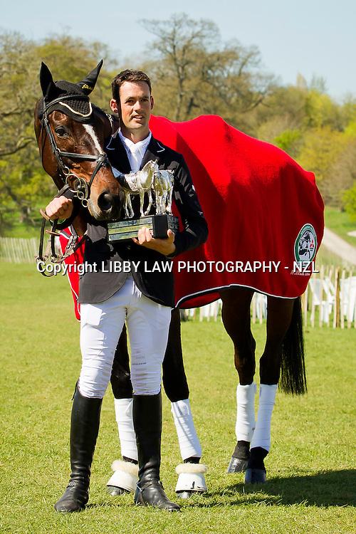 2013 TITLE WINNER: MITSUBISHI MOTORS BADMINTON INTERNATIONAL HORSE TRIAL CCI4*: NZL-Jonathan Paget (CLIFTON PROMISE) 2013 GBR-Mitsubishi Motors Badminton International Horse Trail CCI4*: (Monday 6 May 2013) CREDIT: Libby Law - COPYRIGHT: LIBBY LAW PHOTOGRAPHY - NZL (Sunday 4 May 2013)