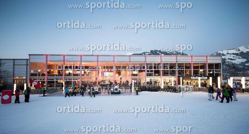 20.01.2017, Hahnenkamm, Kitzbühel, AUT, FIS Weltcup Ski Alpin, Kitzbuehel, Super G, Herren, im Bild VIP Zelt // VIP Tent during men's SuperG of FIS Ski Alpine World Cup at the Hahnenkamm in Kitzbühel, Austria on 2017/01/20. EXPA Pictures © 2017, PhotoCredit: EXPA/ Johann Groder