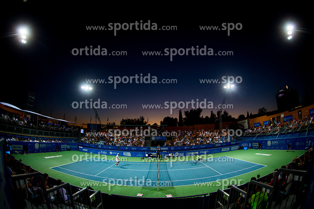 Centre court full of fans during ATP Challenger Zavarovalnica Sava Slovenia Open 2017, on August 12, 2017 in Sports centre, Portoroz/Portorose, Slovenia. Photo by Vid Ponikvar / Sportida