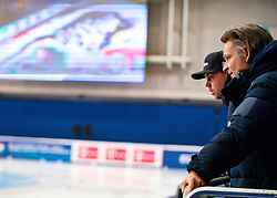 Coach Jeroen Otter during the 1500 meter semifinals ISU European Short Track Speed Skating Championships 2020 on January 25, 2020 in Fonix Hall, Debrecen, Hungary