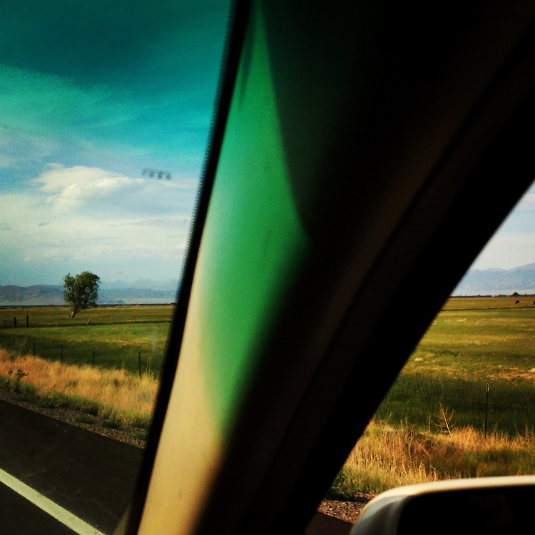 Road Trip. San Luis Valley, Colorado.
