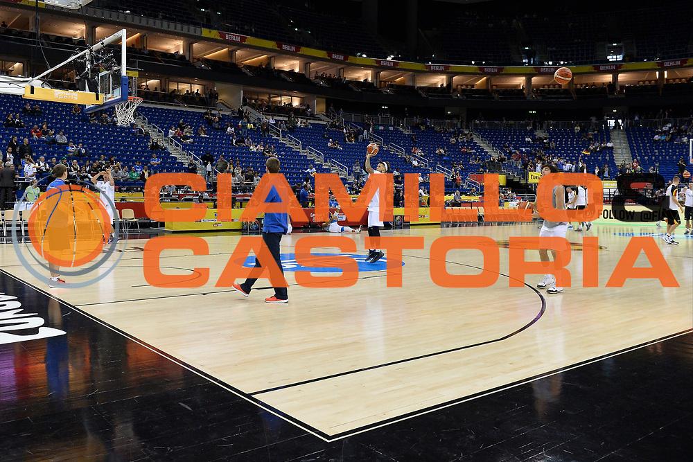 DESCRIZIONE: Berlino EuroBasket 2015 - <br /> Allenamento<br /> GIOCATORE: Italy<br /> CATEGORIA: Pregame<br /> SQUADRA: Italia<br /> EVENTO: EuroBasket 2015 <br /> GARA: Berlino EuroBasket 2015 - Allenamento<br /> DATA: 09-09-2015 <br /> SPORT: Pallacanestro <br /> AUTORE: Agenzia Ciamillo-Castoria/I.Mancini <br /> GALLERIA: FIP Nazionali 2015 FOTONOTIZIA: Berlino EuroBasket 2015 - Allenamento
