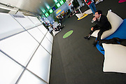 CeBit in Hannover/Lower Saxony is the the world's biggest annual IT fair..Taking a break.
