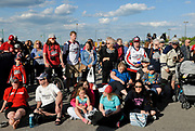 CANADA, Windsor. 31 May 2017. The City of Windsor celebrates the Memorial Cup 2017 Champion Windsor Spitfires Junior A hockey club with a parade through the downtown and to Festival Plaza. NOTE: Agefotostock exclusive license, G99-2888714, to license go to http://www.agefotostock.com/age/en/Stock-Images/Rights-Managed/G99-2888714