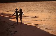 CUBA, GUARDALAVACA..Sunset at the beach..(Photo by Heimo Aga)