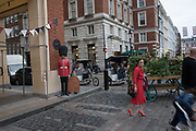Covent Garden, London,  Monday, August 27 2018