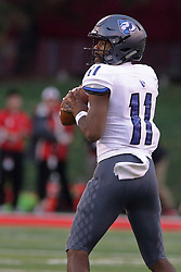 NORMAL, IL - September 08: Johnathan Brantley during 107th Mid-America Classic college football game between the ISU (Illinois State University) Redbirds and the Eastern Illinois Panthers on September 08 2018 at Hancock Stadium in Normal, IL. (Photo by Alan Look)