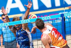 25-08-2019 NED: DELA NK Beach Volleyball, Scheveningen<br /> Last day NK Beachvolleyball / Yorick de Groot