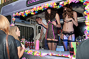 THE COCKTAIL BAR, Dirty Pretty Things - summer party. Lingerie line hosts  party celebrating its new online shop and showcasing the latest collection. The Lingerie Collective, 8 Ganton Street, Soho. London, 15 June 2011<br /> <br />  , -DO NOT ARCHIVE-© Copyright Photograph by Dafydd Jones. 248 Clapham Rd. London SW9 0PZ. Tel 0207 820 0771. www.dafjones.com.