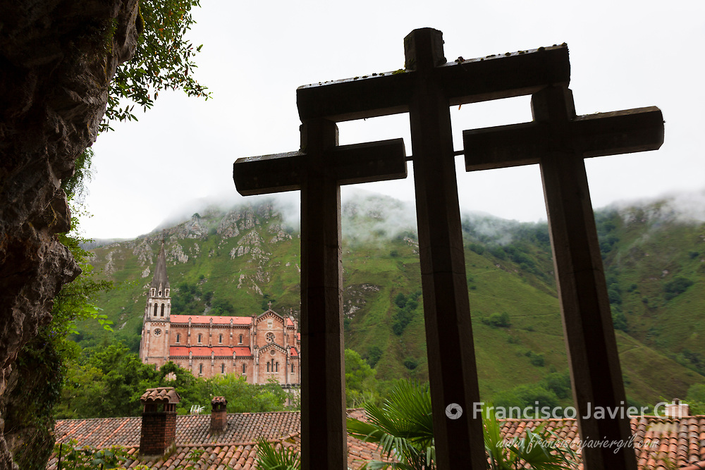 Basilica of Our Lady of Covadonga, Asturias, Spain
