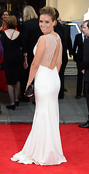 Jessica Taylor arrives for the BAFTA TV Awards at the Theatre Royal, London, United Kingdom. Sunday, 18th May 2014. Picture by Andrew Parsons / i-Images