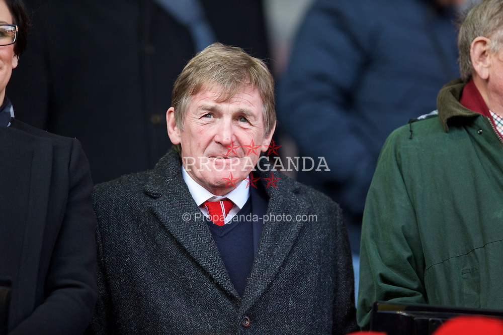 LIVERPOOL, ENGLAND - Saturday, January 31, 2015: Liverpool's non-executive director Kenny Dalglish before the Premier League match against West Ham United at Anfield. (Pic by David Rawcliffe/Propaganda)