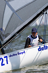 Medemblik - the Netherlands, May 31th 2009. Delta Lloyd Regatta in Medemblik (27/31 May 2009). Day 5, Medal races.
