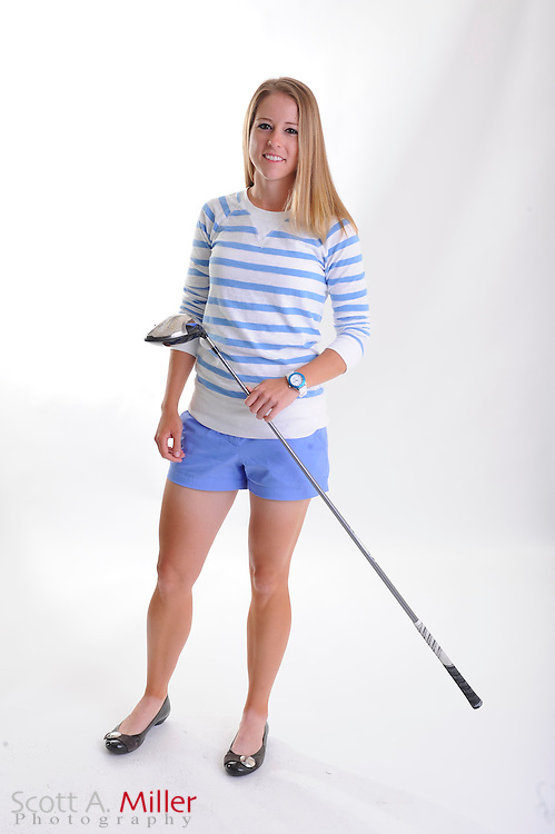 Amy Eneroth during a portrait shoot prior to the Symetra Tour's Florida's Natural Charity Classic at the Lake Region Yacht and Country Club on March 20, 2012 in Winter Haven, Fla. ..©2012 Scott A. Miller.