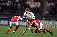 Rugby World Cup. England v Tonga. Mathew Tait at the Parc des Princes, Paris, France. Friday 28 September 2007. Photo: Ron Gaunt/Sportzpics