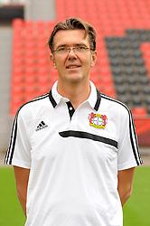 13.09.2013, BayArena, Leverkusen, GER, 1. FBL, Bayer 04 Leverkusen, Fototermin, im Bild Mannschaftsarzt Dr. Karl-Heinrich Dittmar ( Bayer 04 Leverkusen/ Portrait Saison 2013/14 ) // during the Official Team photo of German Bundesliga Club Bayer 04 Leverkusen at the BayArena, Leverkusen, Germany on 2013/09/13. EXPA Pictures © 2013, PhotoCredit: EXPA/ Eibner/ Thomas Thienel<br /> <br /> ***** ATTENTION - OUT OF GER *****